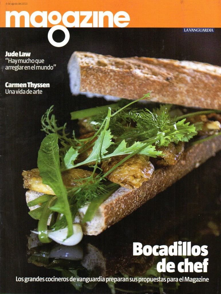 MAGAZINE LA VANGUARDIA-SPAIN-04.08.2013-COVER