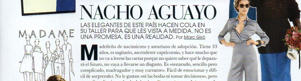 Nacho Aguayo – Marie Claire