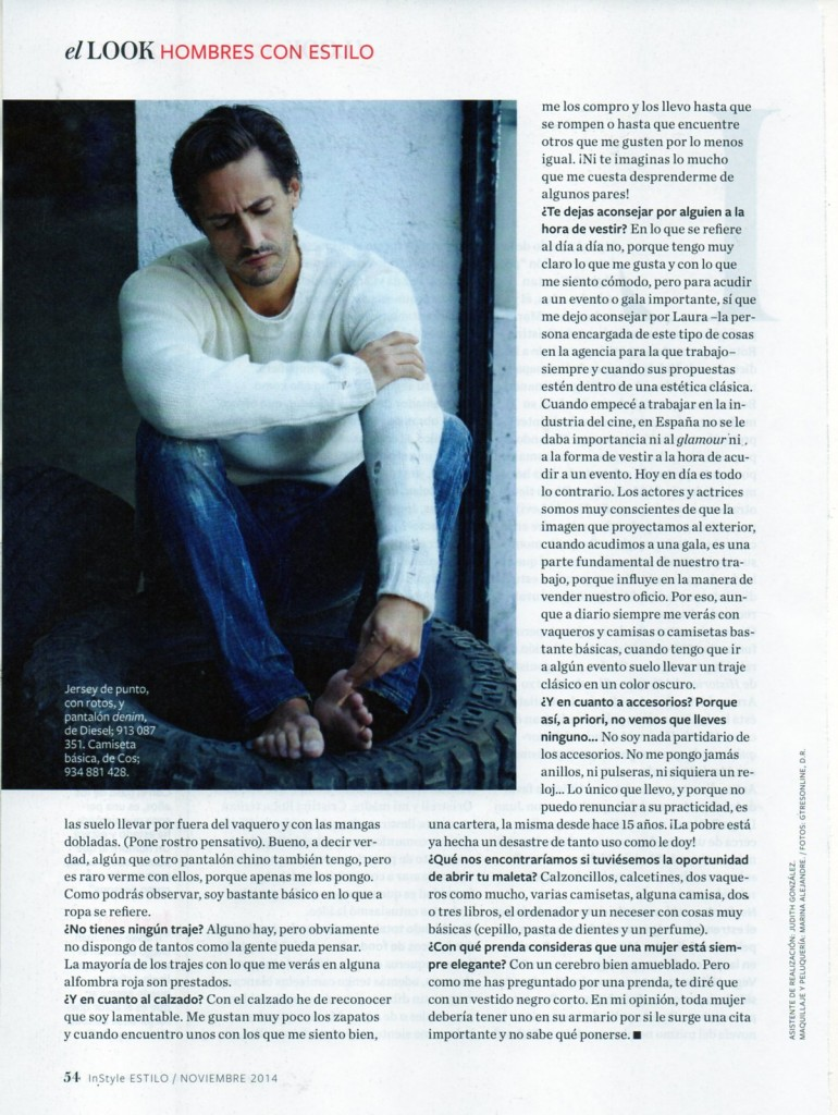 INSTYLE-SPAIN-01.11.2014-DIESEL JEANS AND JERSEY